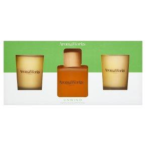 Aromaworks Unwind Basil & Orange