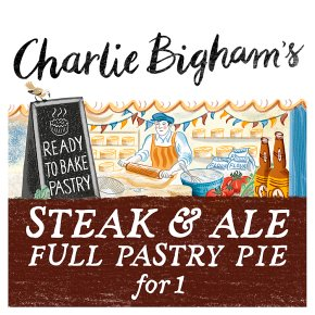 Charlie Bigham's Steak & Ale Pie