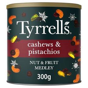 Tyrrell's Cashews & Pistachios Nut & Fruit Medley