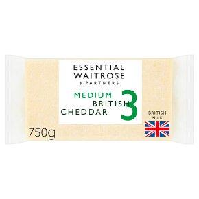 Essential Medium British Cheddar Strength 3