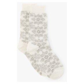 John Lewis With Cashmere Snowflake Socks