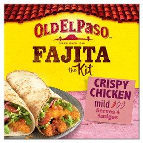 Old El Paso Crispy Chicken Fajita Kit