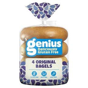 Genius Plain Bagels