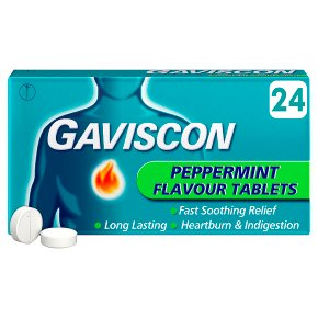 Gaviscon Peppermint Tablets