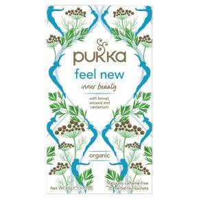 Pukka Feel New 20Herbal Tea Sachets