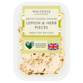 Waitrose British Chicken Lemon & Herb Pieces