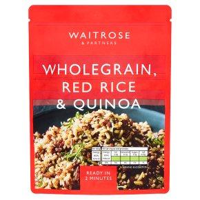 Waitrose Wholegrain, Red Rice & Quinoa