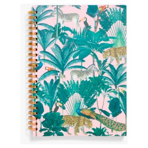 John Lewis A5 Tropical Notebook