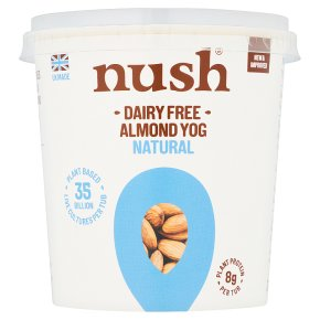 Nush Almond M•lk Yog Natural