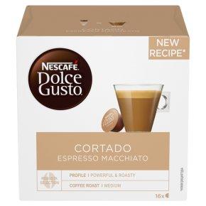 Nescafé Dolce Gusto Espresso Macchiato 16s