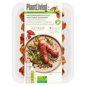 Plantlife: Mediterranean Style Vegetable Sausages