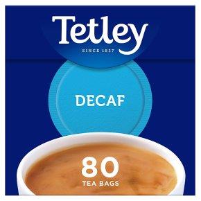 Tetley Decaf 80 Tea Bags