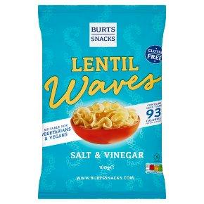 Burts Lentil Waves Salt & Vinegar