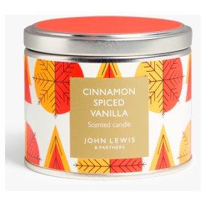 John Lewis Gold Tin Candle