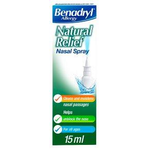 Benadryl Natural Relief Nasal Spray