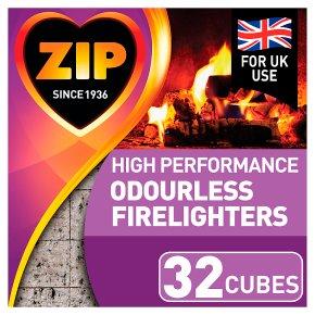 Zip odourless firelighters