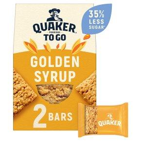 Quaker Porridge To Go Golden Syrup Squares