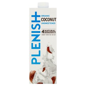 Plenish Organic Coconut Unsweetened Drink