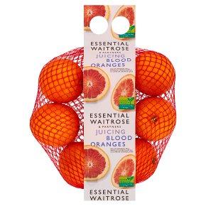 Essential Juicing Blood Oranges