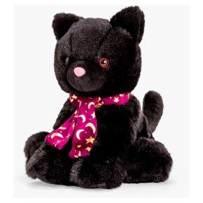 John Lewis Plush Cat with Scarf