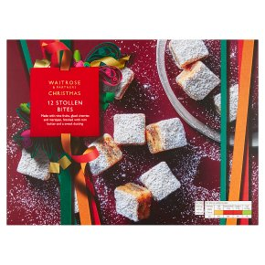 Waitrose Christmas Stollen Bites