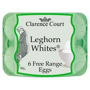 Clarence Court Leghorn Whites Free Range Eggs