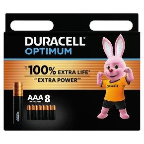 Duracell Optimum AAA 8 Pack