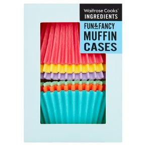 Waitrose Fun & Fancy Muffin Cases