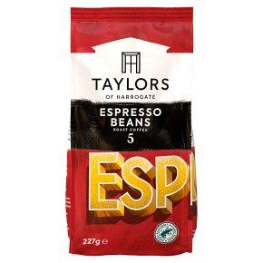 Taylors of Harrogate Espresso Beans Roast Coffee
