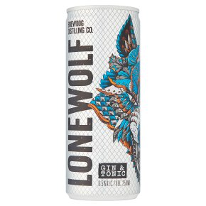 Lone Wolf Gin & Tonic Ready to Drink Aberdeenshire