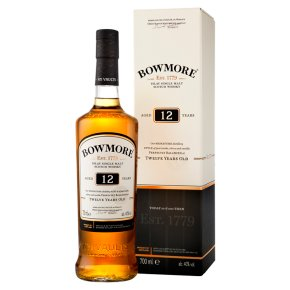 Bowmore 12 Year Old Islay Single Malt Whisky
