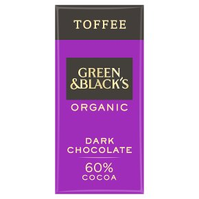 Green & Black's Dark Chocolate with Burnt Toffee