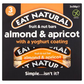 Eat Natural bars almonds apricots & yoghurt coating