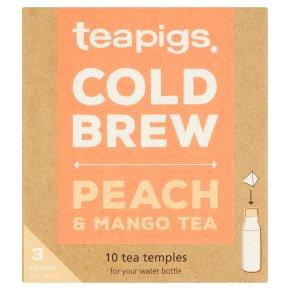 Teapigs Cold Brew Peach & Mango Tea 10 Tea Temples