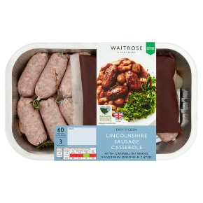 Easy to Cook Lincolnshire Sausage Casserole