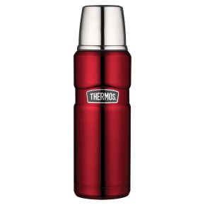 Thermos red 1.2 litre flask