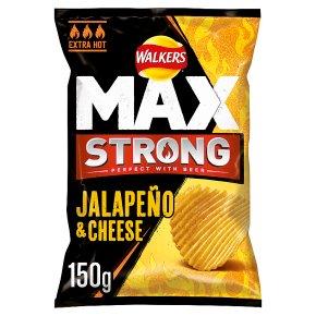 Walkers Max Jalapeño & Cheese