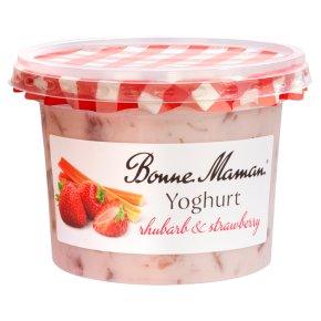 Bonne Maman Rhubarb & Strawberry Yoghurt