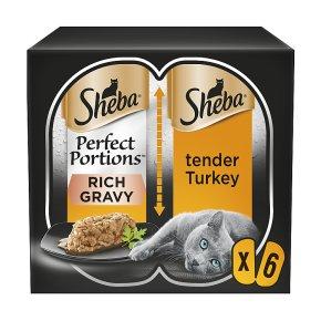 Sheba Perfect Portions Turkey in Rich Gravy