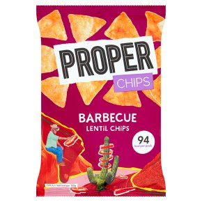 Properchips Lentil Chips Barbecue