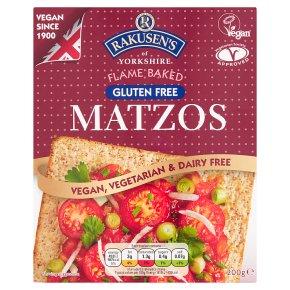 WAITROSE > Food Cupboard > Rakusen's Flame Baked Gluten Free Matzos