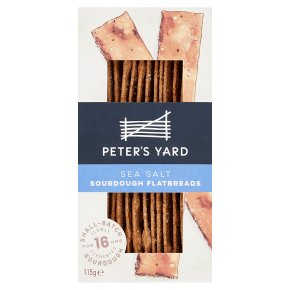 Peter's Yard Sea Salt Flatbreads