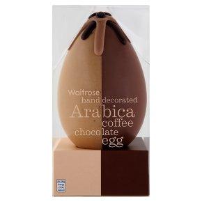 Waitrose Arabica Coffee Chocolate Egg