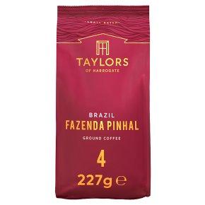 Taylors of Harrogate Fazenda Pinhal Brazil Ground Coffee