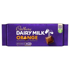 Dairy Milk Orange