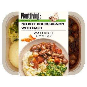 Plantlife: No Beef Bourguignon with Mash