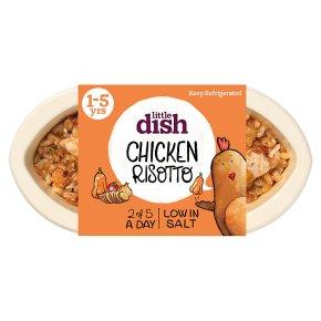 Little Dish British Chicken & Veg Risotto