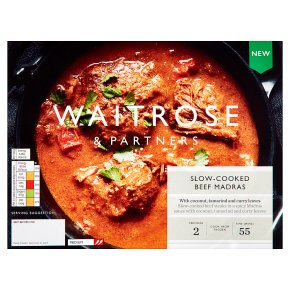 Waitrose Slow Cooked Beef Madras
