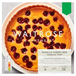 Waitrose Morello Cherry Vanilla Tart