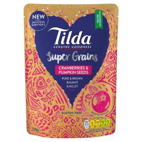 Tilda Super Grains Cranberries & Pumpkin Seeds